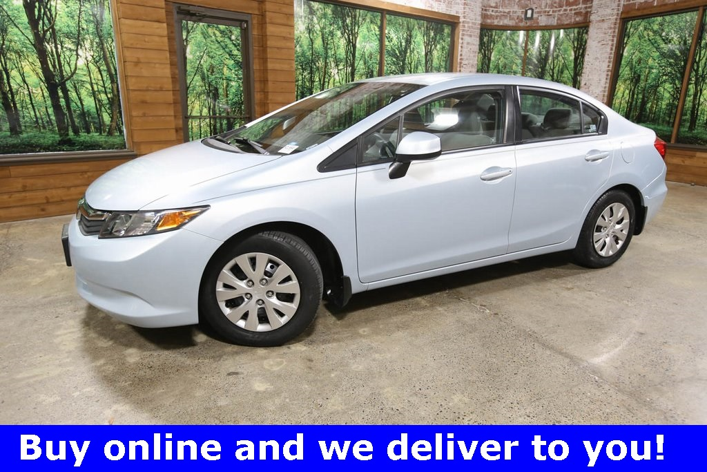 Pre-Owned 2012 Honda Civic LX 1-Owner