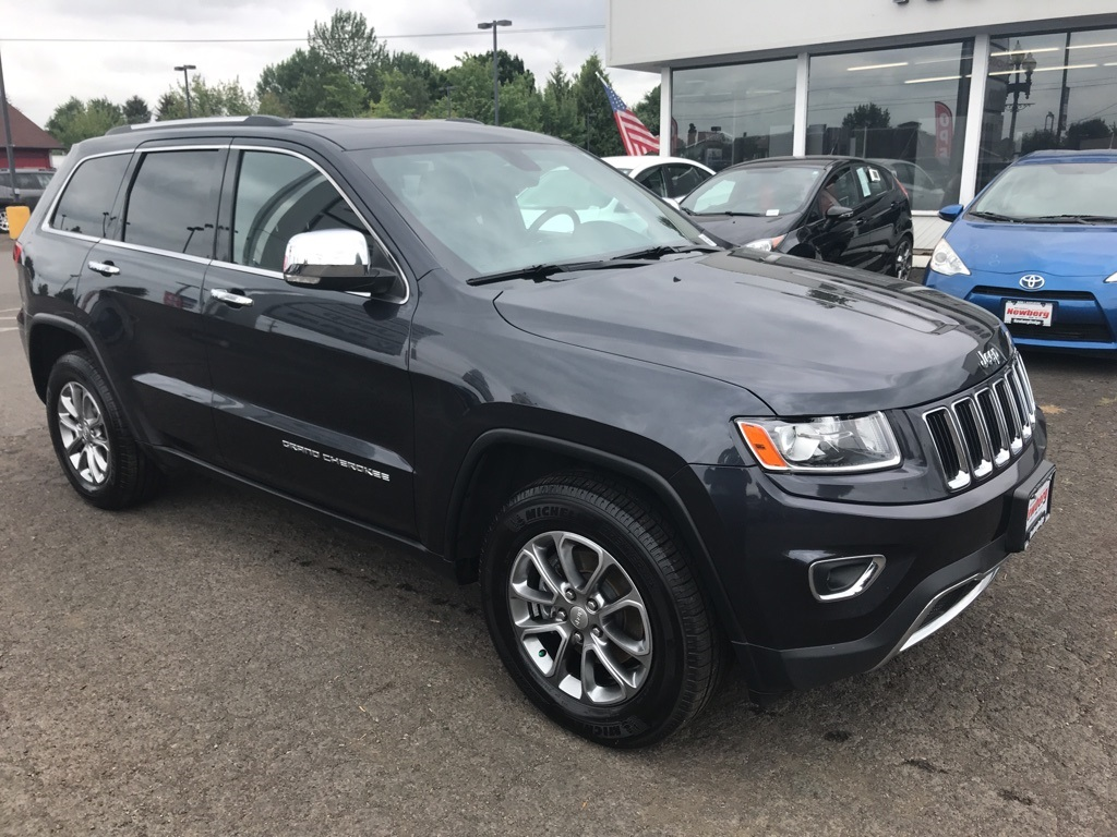 Pre-Owned 2014 Jeep Grand Cherokee Limited 4WD, Tow Pkg, Sunroof, Leather Heated Seats