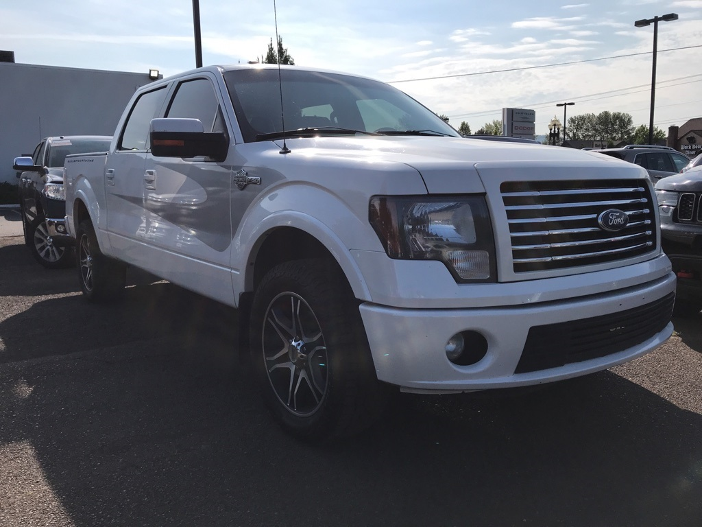 Pre-Owned 2012 Ford F-150 Harley-Davidson SUNROOF, LEATHER, 20