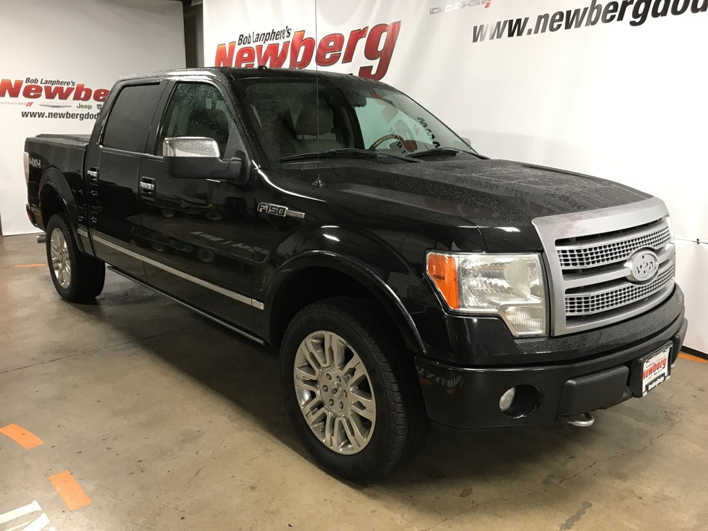 Pre-Owned 2009 Ford F-150 Platinum 4WD Crew Cab, Sunroof, Navigation