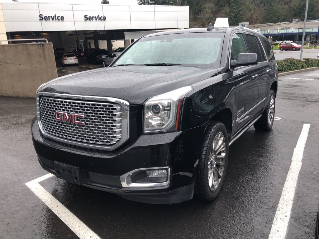 Pre Owned 2015 Gmc Yukon Denali Dvd Leather One Owner 4d Sport