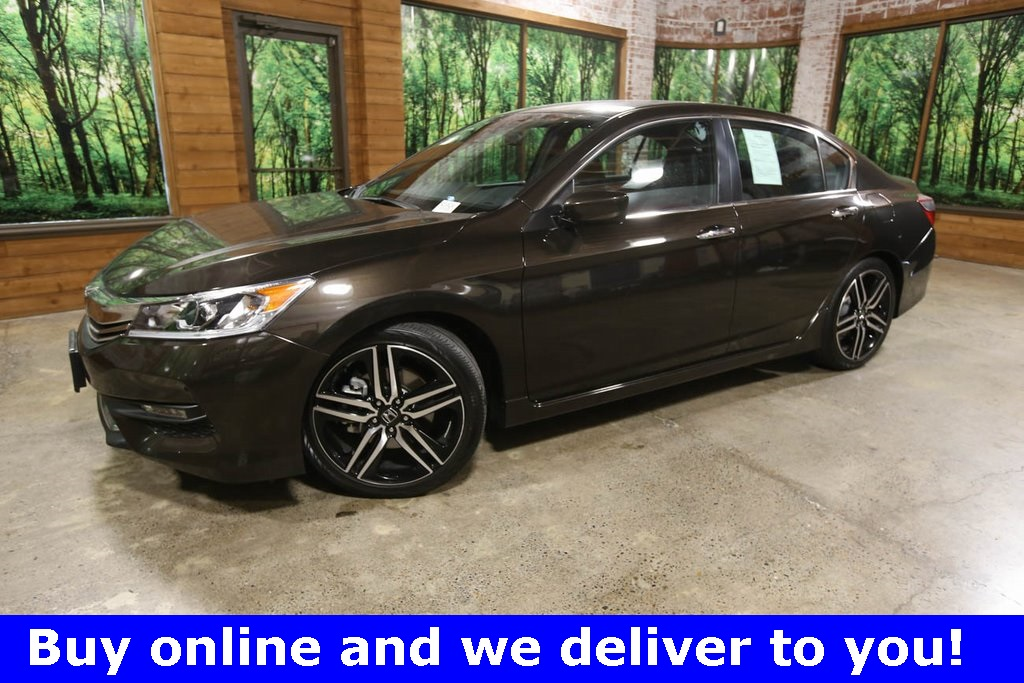 Certified Pre-Owned 2017 Honda Accord Sport 1-Owner, CERTIFIED