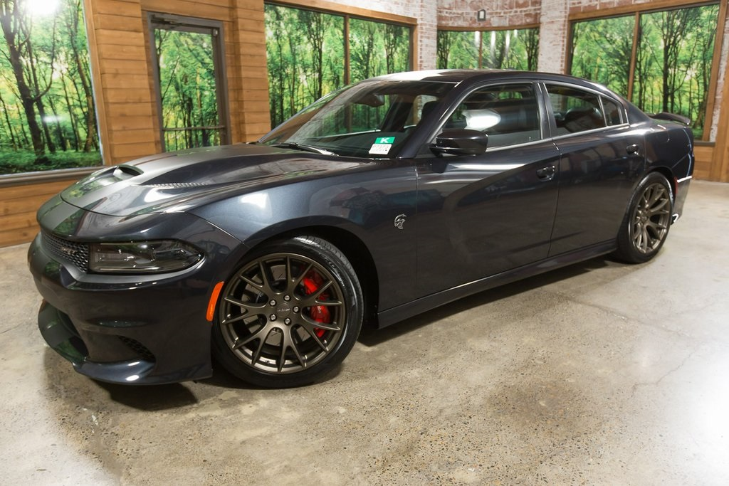 Pre-Owned 2016 Dodge Charger SRT Hellcat 707 Horsepower! Navigation System, Leather Heated