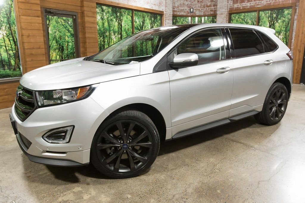 Pre Owned 2015 Ford Edge Sport 1 Owner Awd Panoramic Sunroof Navigation