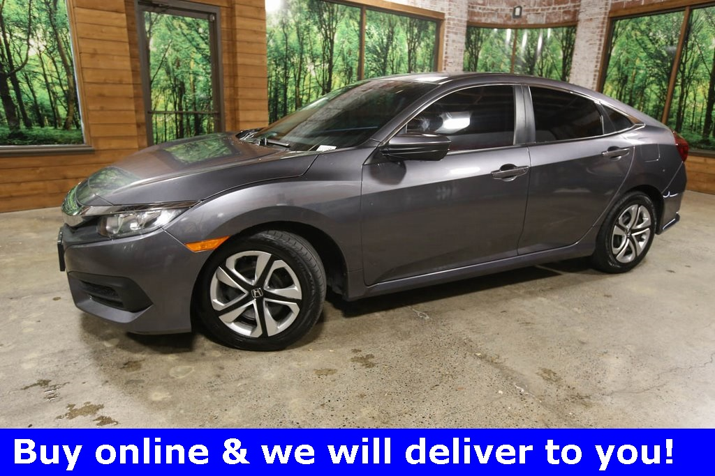 Pre-Owned 2016 Honda Civic LX Clean Carfax