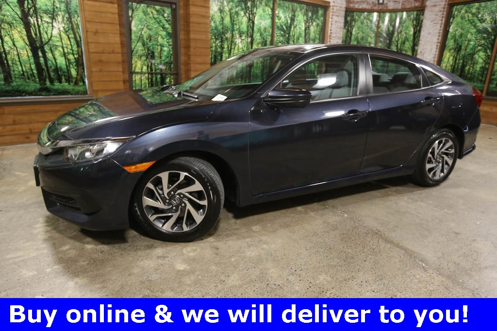Certified Pre-Owned 2018 Honda Civic EX 1-Owner, CERTIFIED, Sunroof