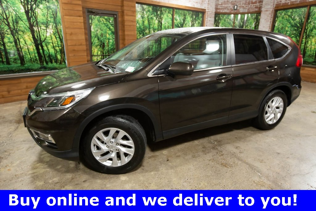 Certified Pre-Owned 2016 Honda CR-V EX AWD, Leather, Certified, 1-Owner, Sunroof