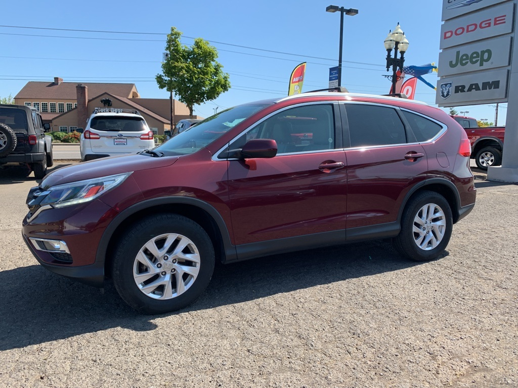Pre-Owned 2015 Honda CR-V EX-L AWD, 1-Owner, Sunroof, Leather Heated Seats