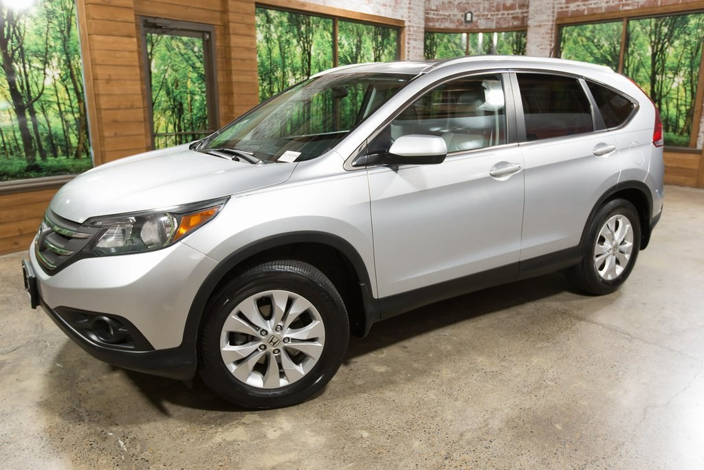 Pre-Owned 2014 Honda CR-V EX-L AWD, Leather Heated Seats, Sunroof, Local Trade