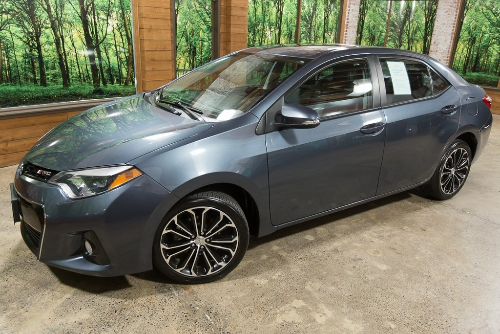 Pre-Owned 2014 Toyota Corolla S Plus Deluxe Pkg, Sunroof, Spoiler, Low Miles