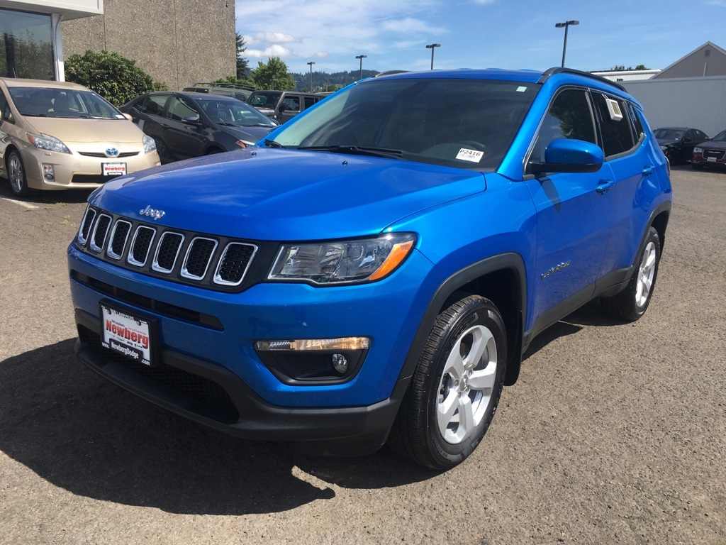 Certified Pre-Owned 2019 Jeep Compass Latitude 4WD, Cold Weather Pkg, CERTIFIED, 1-Owner