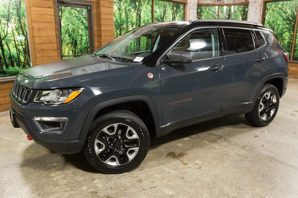 Pre-Owned 2017 Jeep New Compass Trailhawk 4x4, One Owner, Warranty