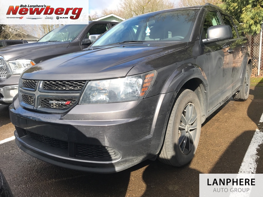 Certified Pre-Owned 2018 Dodge Journey SE One Owner, Clean Carfax, Blacktop Package, Certifi