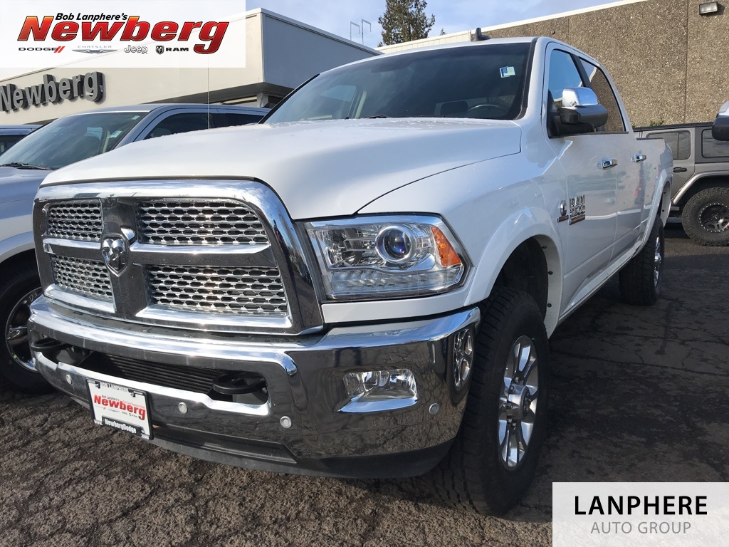 Certified Pre-Owned 2017 Ram 2500 Laramie Clean Carfax, Leather, 4WD, Certified!