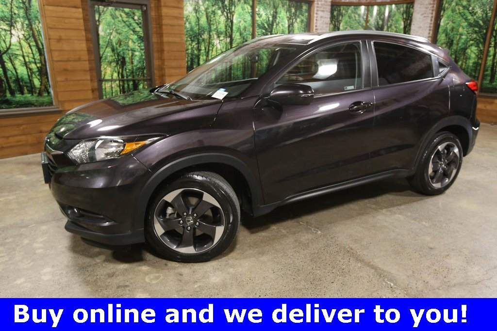 Certified Pre-Owned 2018 Honda HR-V EX-L w/Navigation