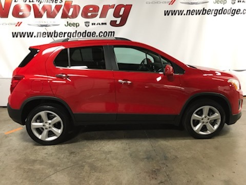 Pre-Owned 2015 Chevrolet Trax LTZ AWD, Moonroof, Heated Seats, Turbo