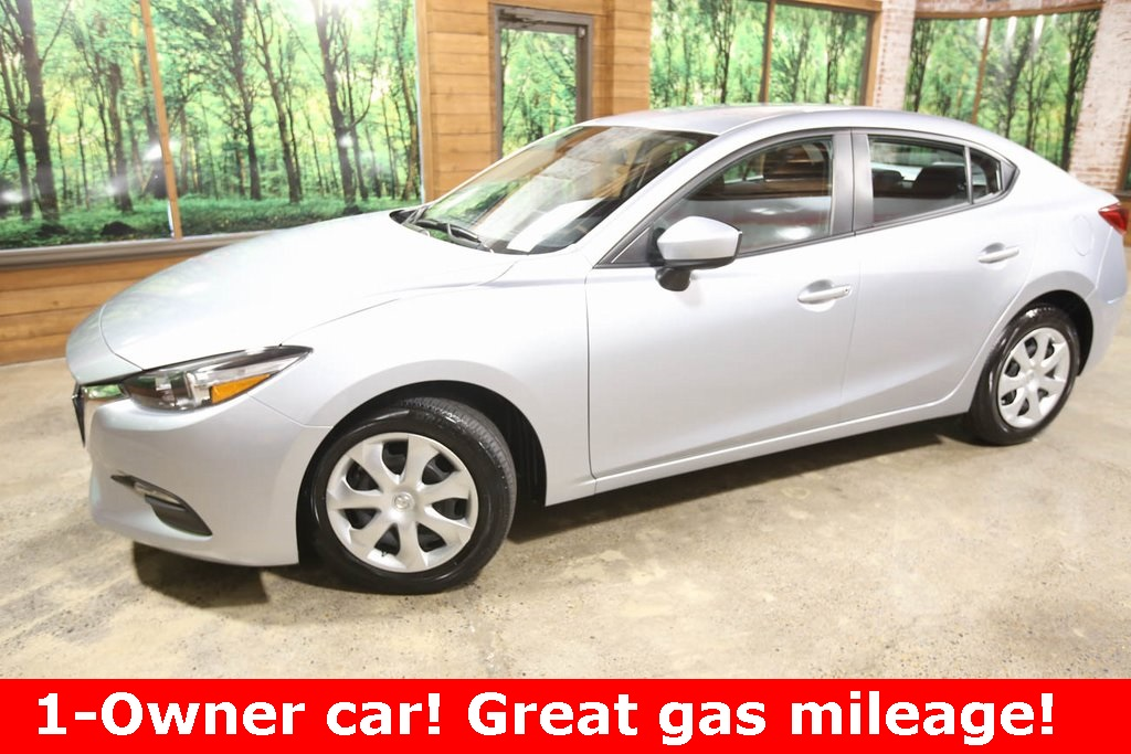 Pre-Owned 2018 Mazda3 Sport 1-Owner, Low Mileage, Clean Carfax