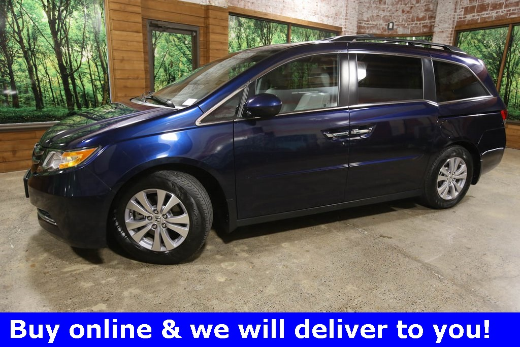 Certified Pre-Owned 2017 Honda Odyssey EX-L 1-Owner, CERTIFIED, Sunroof