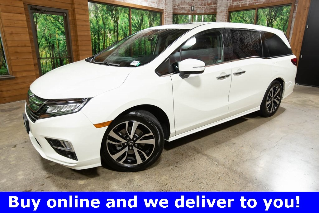 Certified Pre-Owned 2019 Honda Odyssey Elite 1-Owner, CERTIFIED, DVD, Sunroof, Navigation