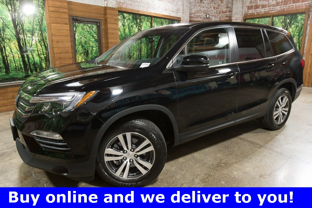 Certified Pre-Owned 2017 Honda Pilot EX-L AWD, Certified, 1-Owner, Sunroof