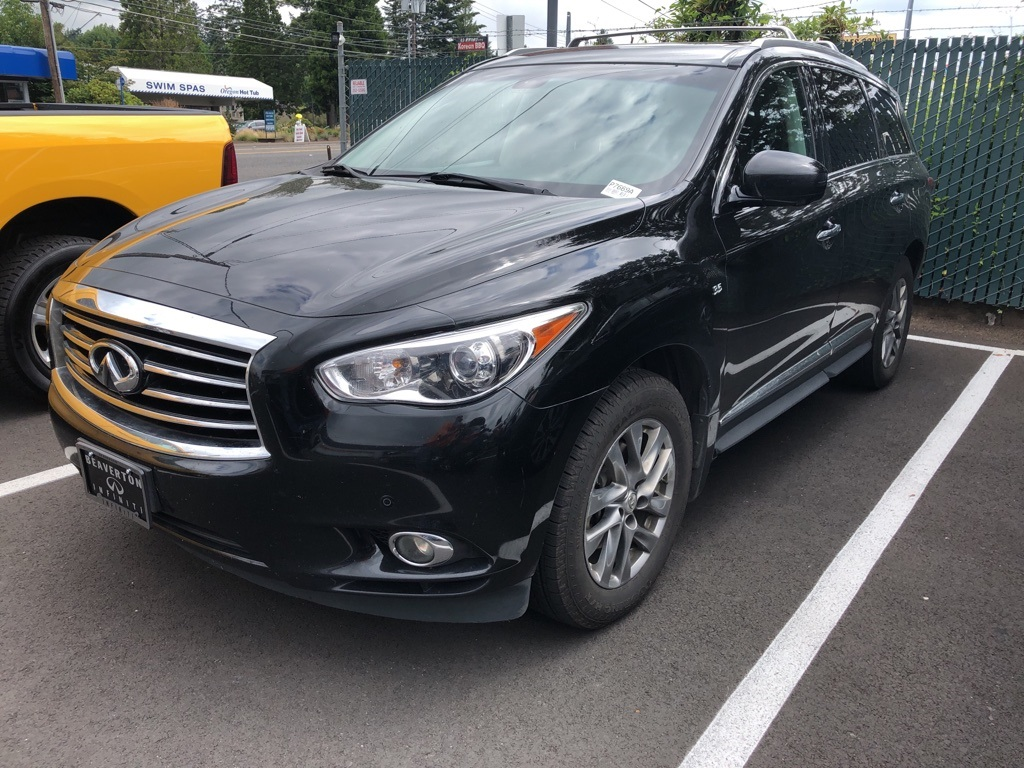 Pre-Owned 2014 INFINITI QX60 AWD, Theatre Pkg, Driver Assist Pkg, 1-Owner