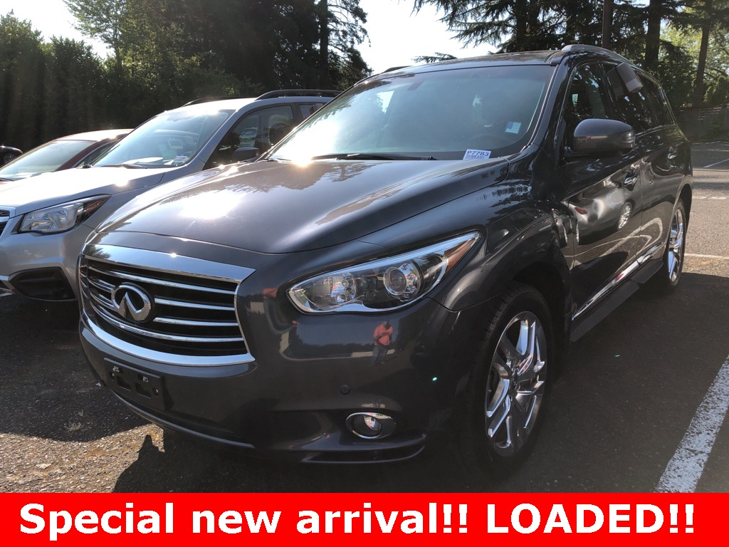 Pre-Owned 2013 INFINITI JX35 AWD, Premium Pkg, Navigation, 20In Wheels, Sunroof