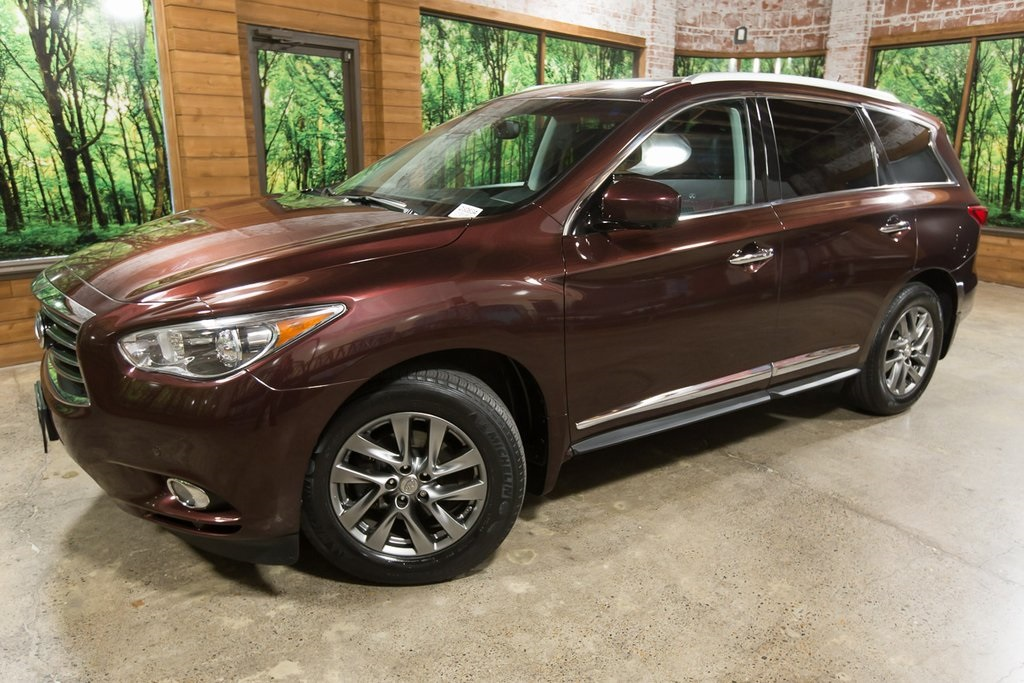 Pre-Owned 2013 INFINITI JX35 Base DVD's, 1-Owner, Leather, Navigation