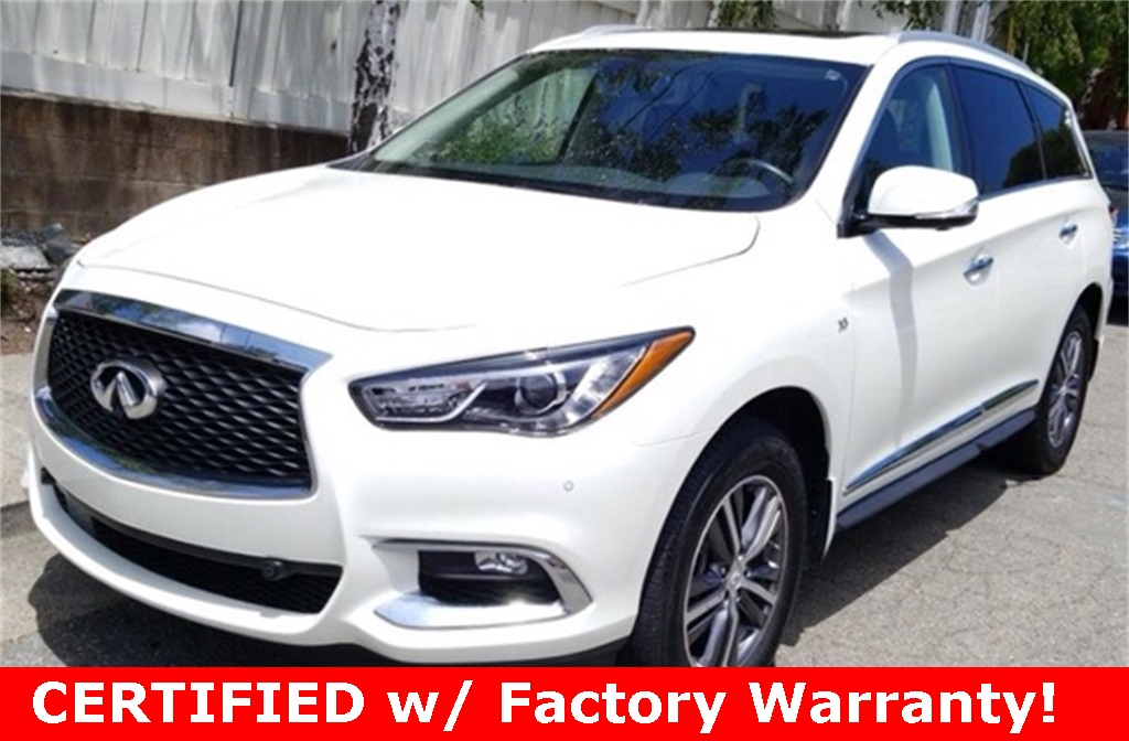 Certified Pre-Owned 2017 INFINITI QX60 AWD, Drivers Assistance Pkg, Premium Plus Pkg