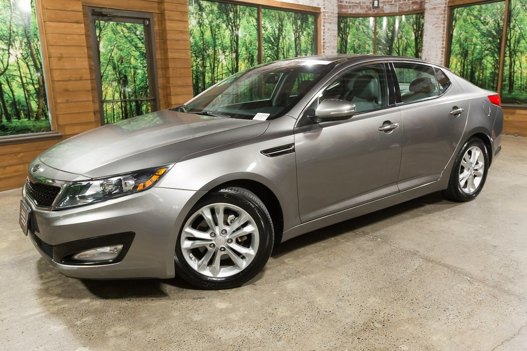 Pre-Owned 2013 Kia Optima EX 1-Owner, Premium Pkg, Tech Pkg, Sunroof, Navi