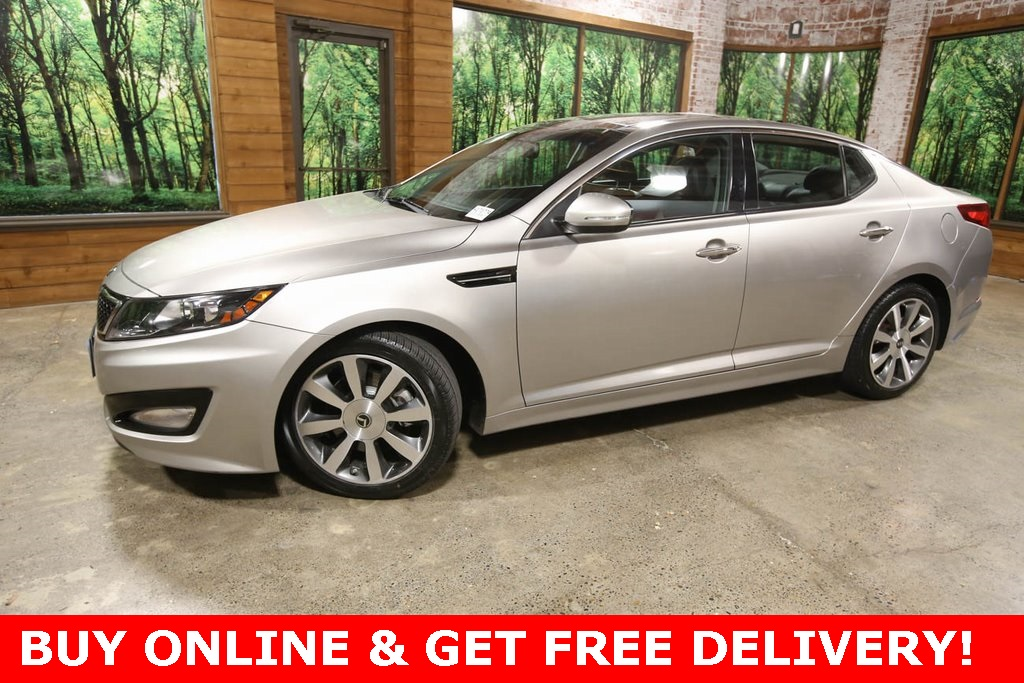 Pre-Owned 2013 Kia Optima SX Tech Pkg, Touring Pkg, Panoramic Sunroof, Navi