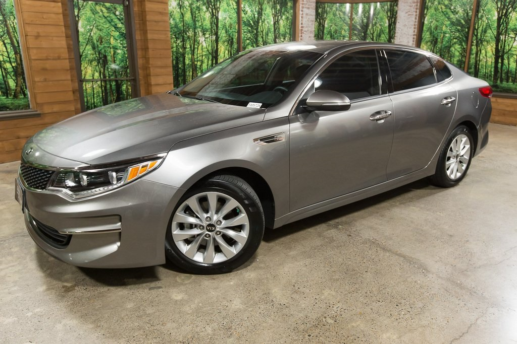 Certified Pre-Owned 2016 Kia Optima EX Leather, LEDs, Sleek, Certified!