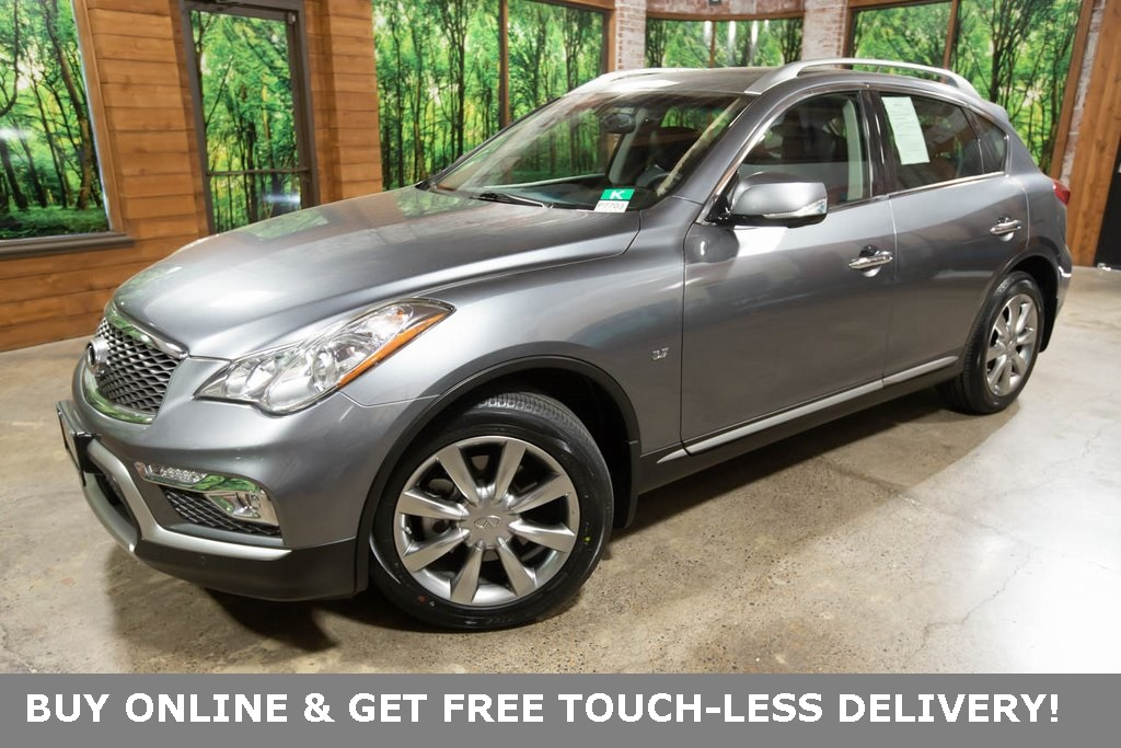 Certified Pre-Owned 2017 INFINITI QX50 AWD, Premium Plus Pkg, Navigation, CERTIFIED