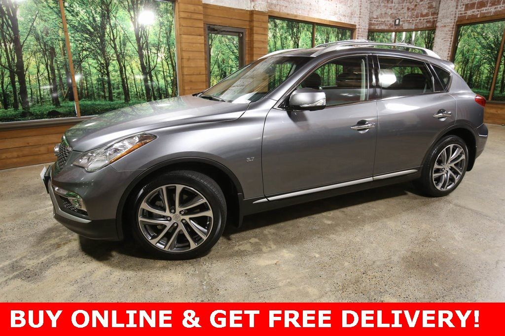 Certified Pre-Owned 2017 INFINITI QX50 AWD, 1-Owner, CERTIFIED, Tech Pkg, Touring Pkg