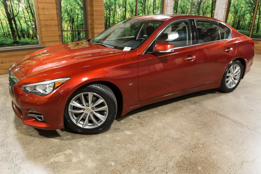 Certified Pre-Owned 2015 INFINITI Q50 Premium Certified 1-Owner w/ Navigation Pkg, Heated Seats