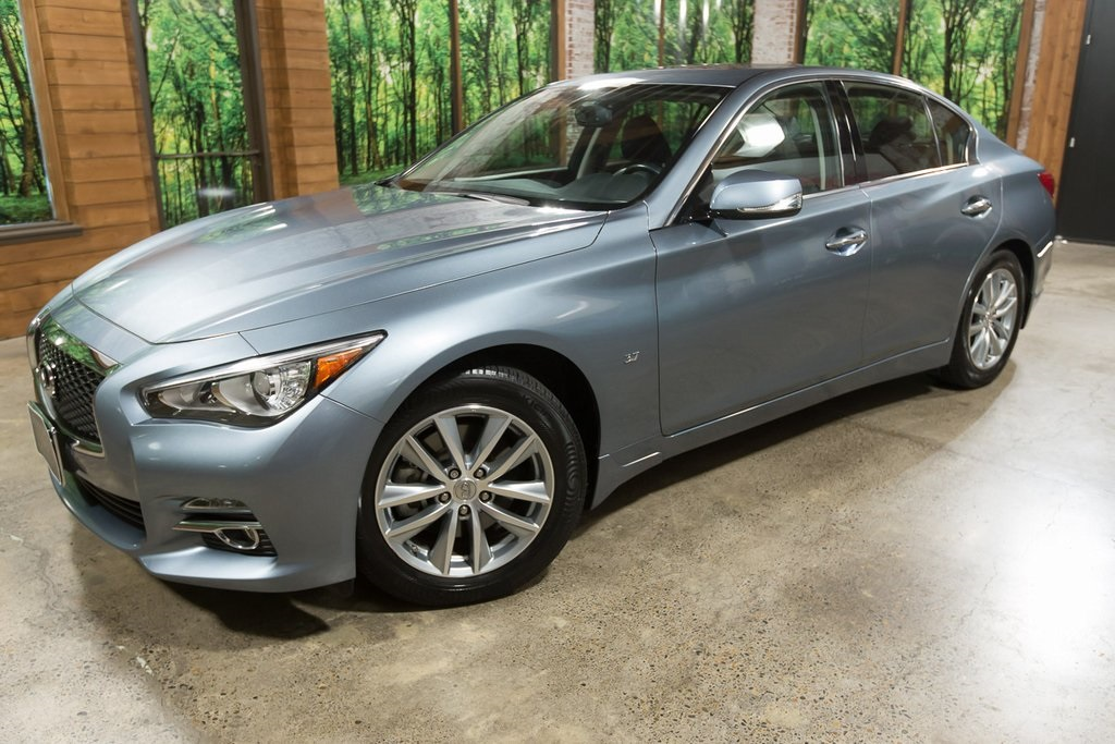 Certified Pre-Owned 2015 INFINITI Q50 Premium One Owner, AWD, Navigation, Certified!