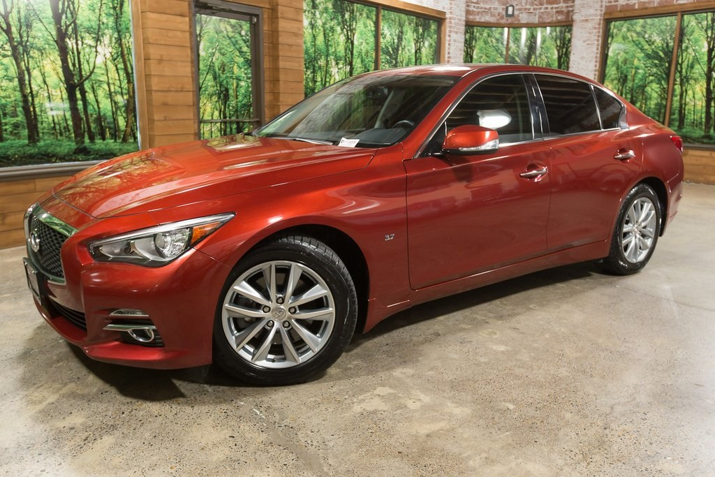 Certified Pre-Owned 2015 INFINITI Q50 Premium AWD, Navigation, CERTIFIED, 1-Owner