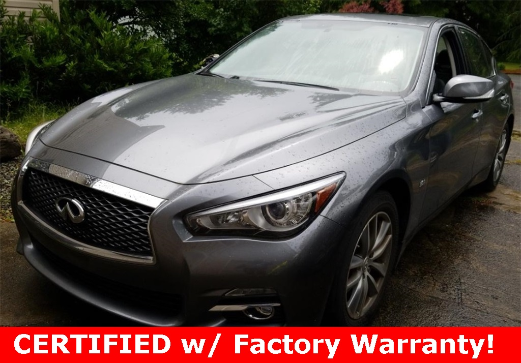 Certified Pre-Owned 2017 INFINITI Q50 3.0t Premium AWD, 1-Owner, Premium Plus Pkg, CERTIFIED