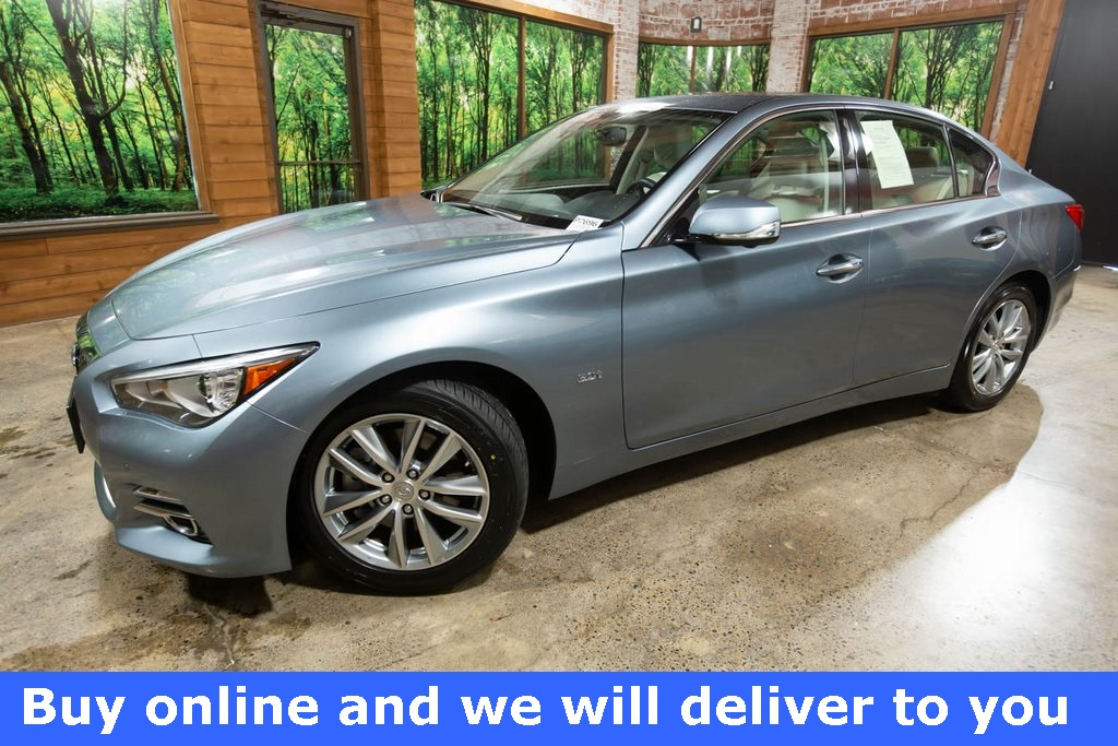 Certified Pre-Owned 2017 INFINITI Q50 3.0t Premium AWD, Premium Plus Pkg, Driver Assist Pkg