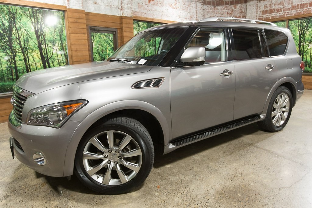 Pre-Owned 2013 INFINITI QX56 Base 4WD, Theatre Package, Wheel Package