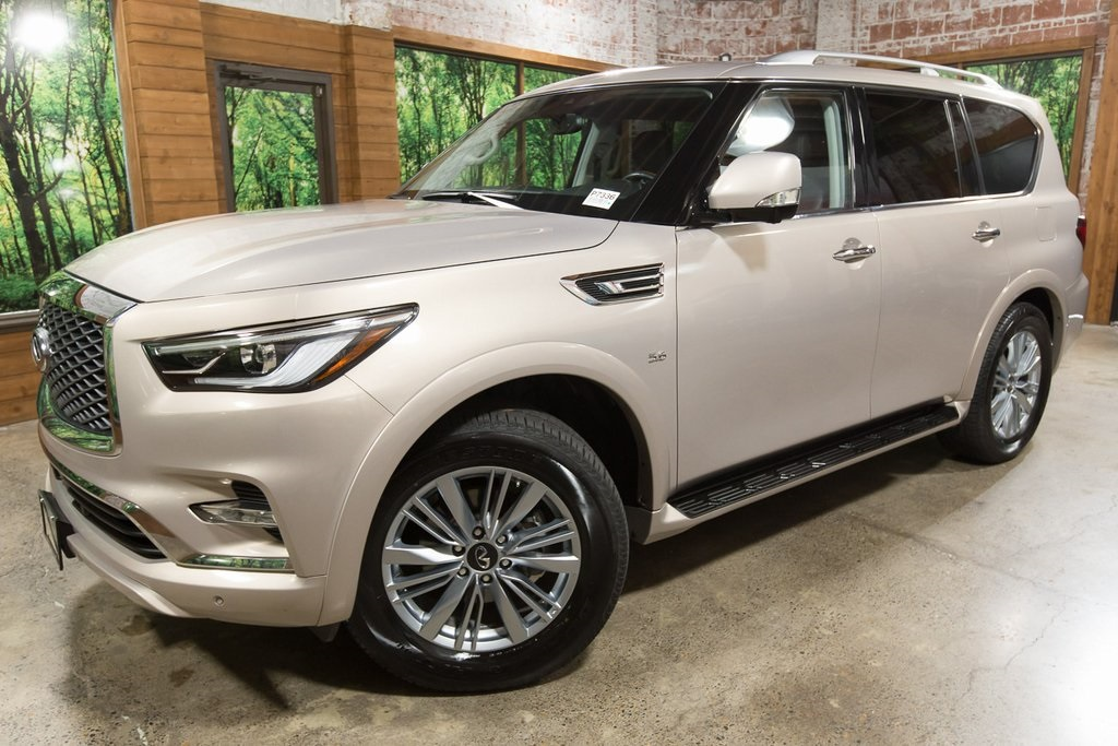 Certified Pre Owned 2019 Infiniti Qx80 Luxe Certified Signature