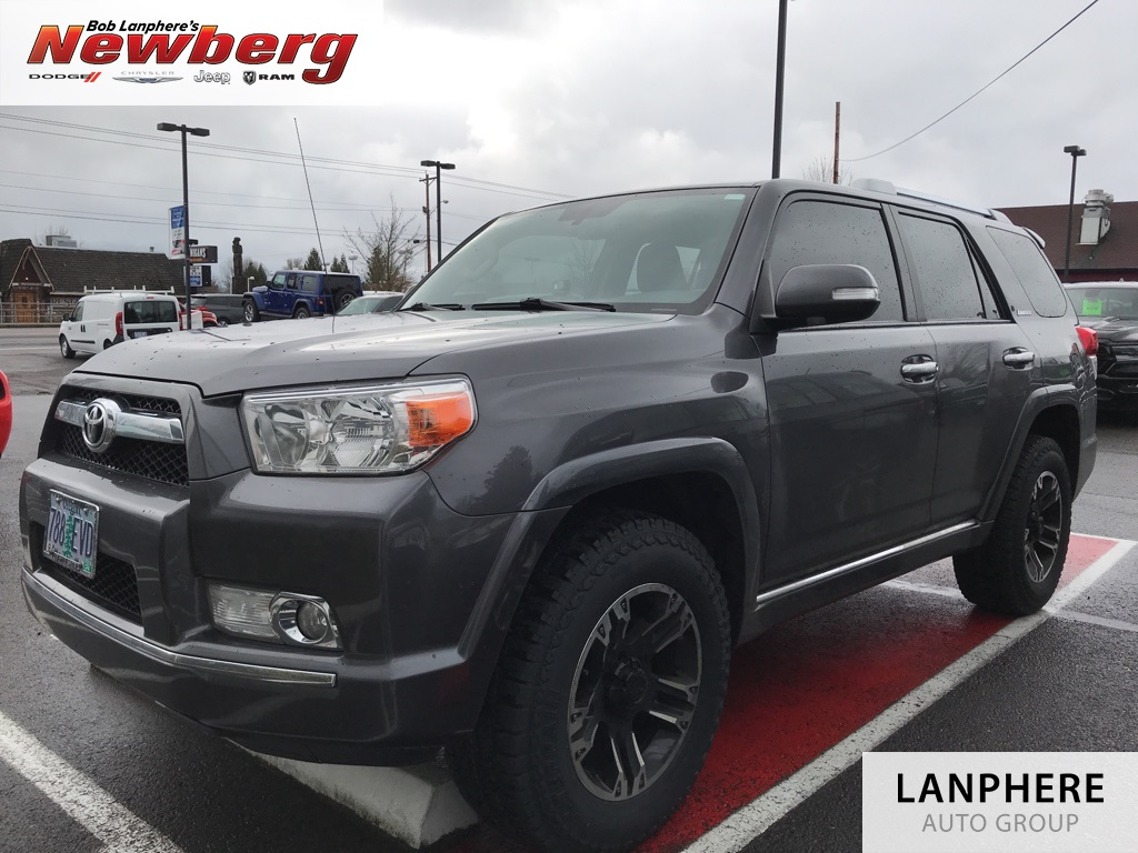 Pre-Owned 2013 Toyota 4Runner Limited Clean Carfax, Leather, Moonroof, New Wheels/Tires!
