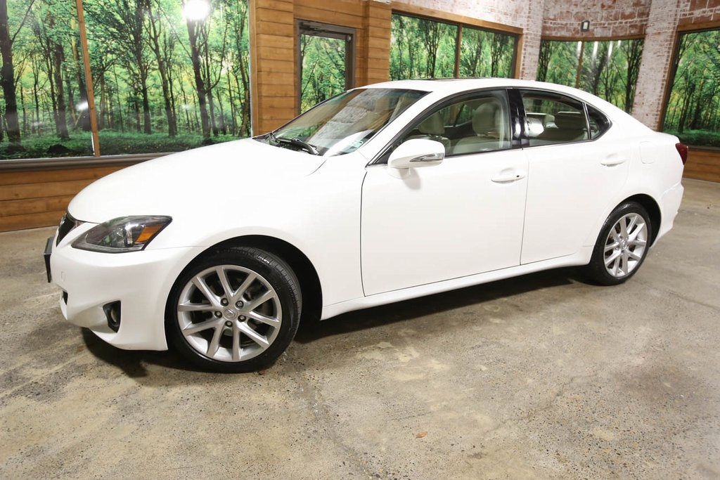 Pre-Owned 2012 Lexus IS 250 AWD with Navigation, Sunroof, Leather