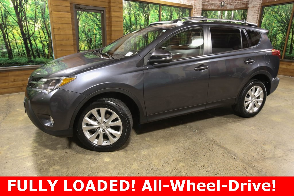 Pre-Owned 2015 Toyota RAV4 Limited AWD, Navigation, Sunroof, Heated Seats
