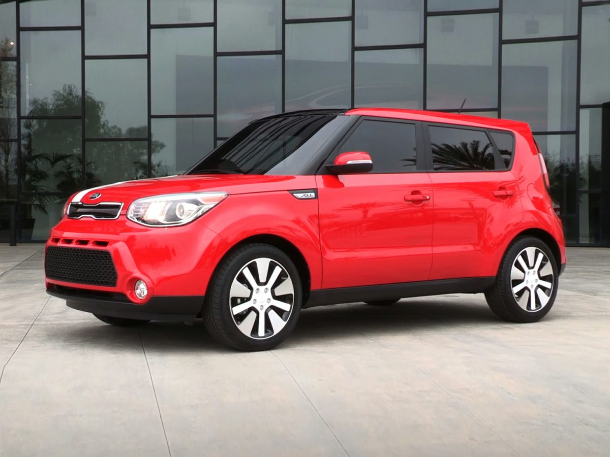 Pre-Owned 2014 Kia Soul Exclaim Sun and Sound Package, Sunroof, Navigation