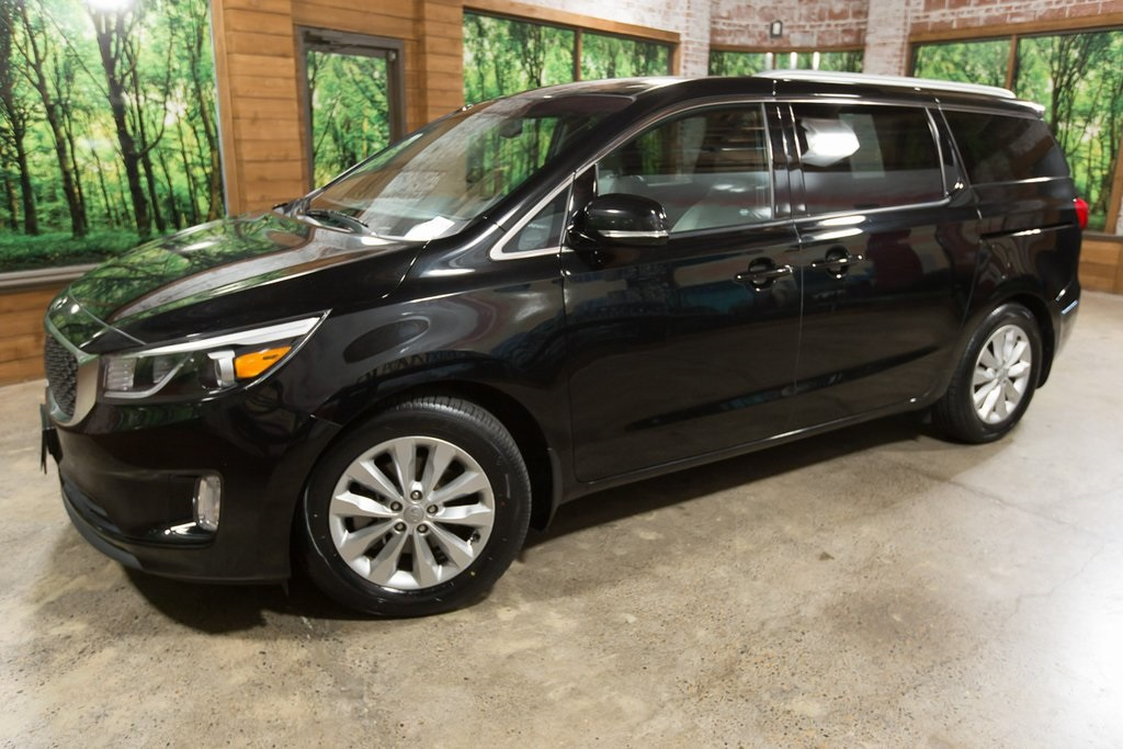 Pre-Owned 2015 Kia Sedona EX 1-Owner, Leather, Backup Camera, Parking Sensors