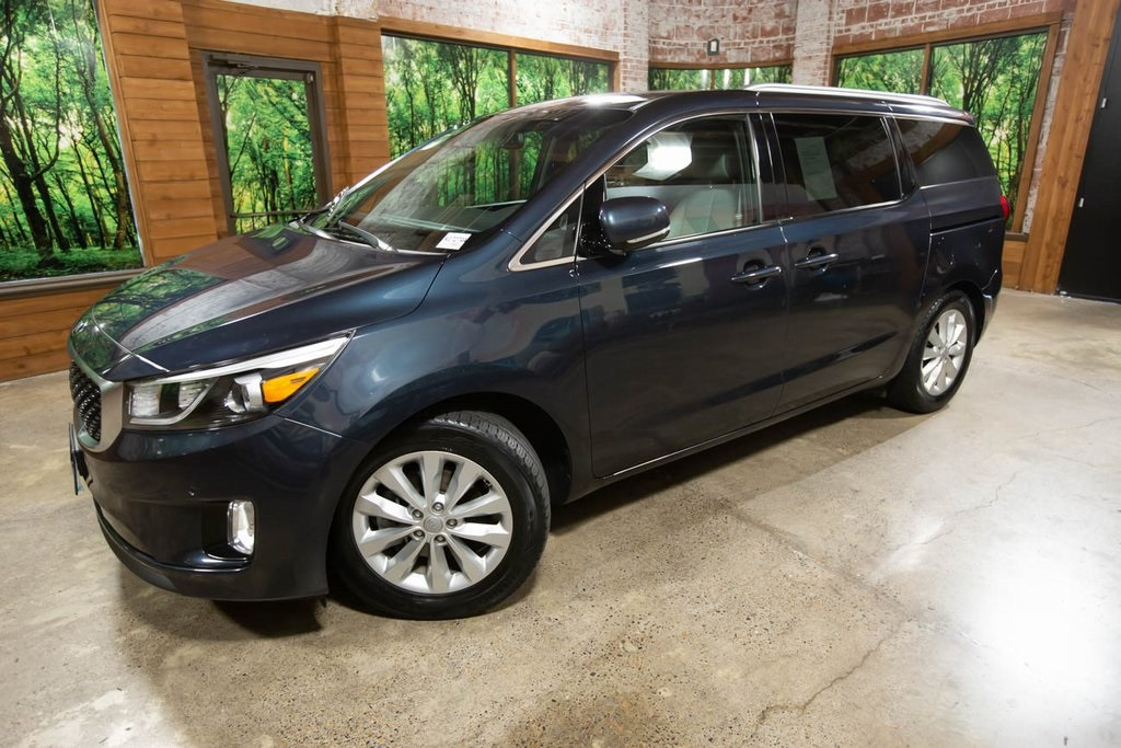 Certified Pre-Owned 2017 Kia Sedona EX 1-Owner, Advanced Premium Tech Pkg, CERTIFIED