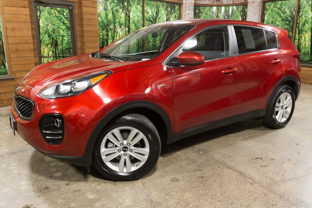 Pre-Owned 2018 Kia Sportage LX CERTIFIED 1-Owner, All-Wheel-Drive