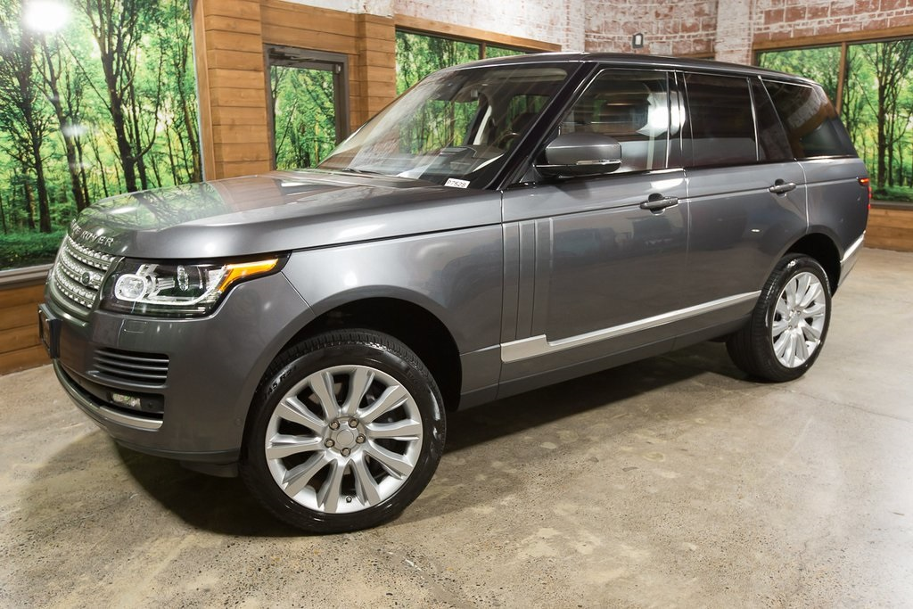 Pre-Owned 2016 Land Rover Range Rover 5.0L V8 Supercharged LWB
