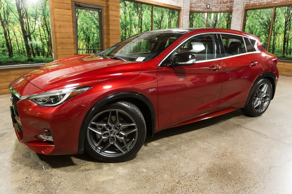 Certified Pre-Owned 2018 INFINITI QX30 Sport Certified, Panoramic Sunroof, Navigation, Leather