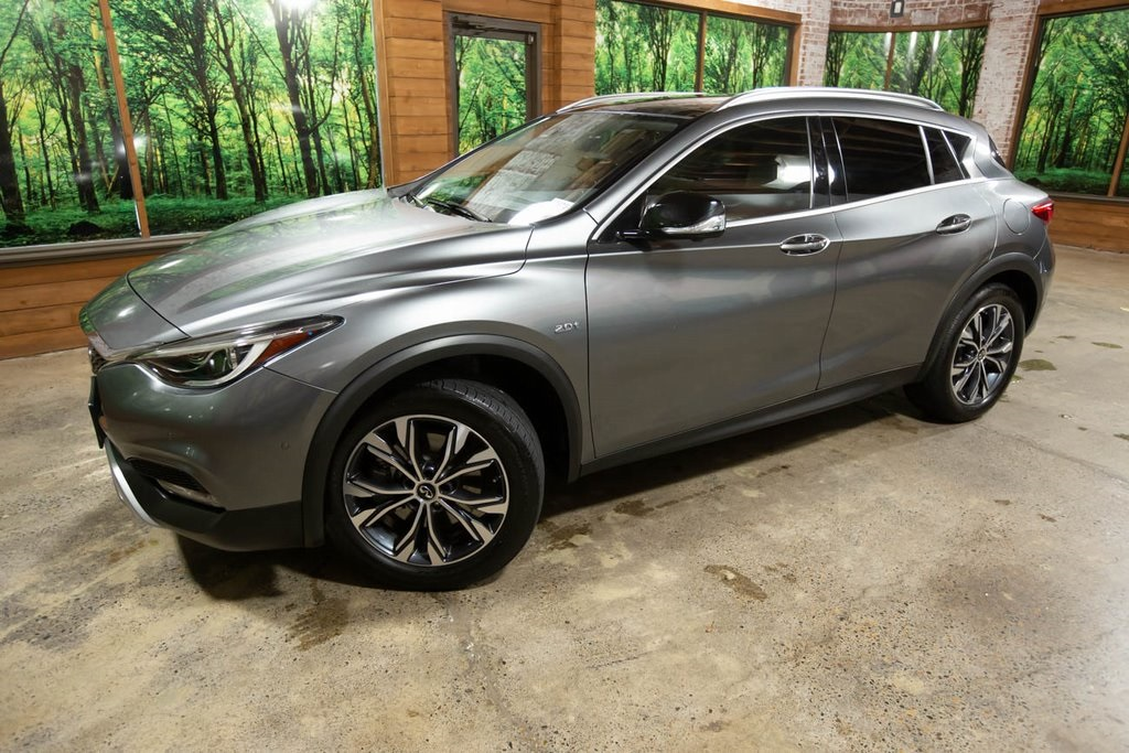 Certified Pre-Owned 2017 INFINITI QX30 Premium AWD, Tech Pkg, Navigation, Sunroof, CERTIFIED